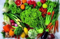 Ежедневное употребление фруктов, овощей и зелени