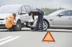 Авария - причина перелома тазобедренного сустава