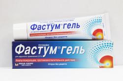 Фастум гель для лечения артроза