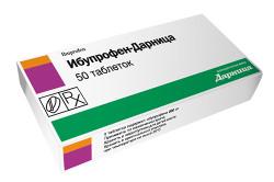 Ибупрофен в борьбе с остеохондрозом