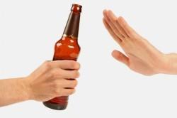 Отказ от алкоголя перед посещением бани