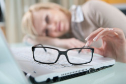 Ухудшение зрения при перенапряжении мышечных тканей