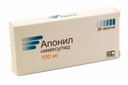 Апонил для устранения болей в суставах