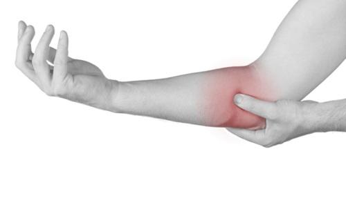 Возникновение боли в локтевом суставе