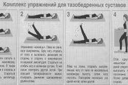 Гимнастика для тазобедренных суставов