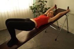 Упражнение на растяжку позвоночника