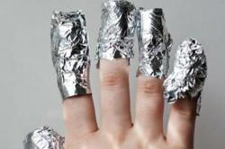 Лечение фольгой суставов пальцев