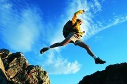 Перелом голеностопа при неудачном прыжке