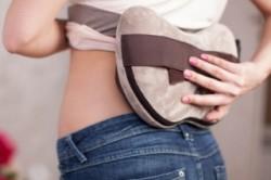 Прогревание спины при остеохондрозе
