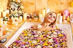 Лечение артроза ваннами с морской солью