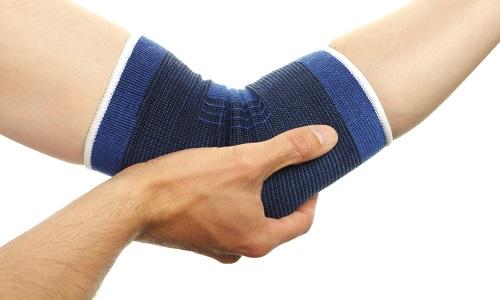 Использование ортеза на локтевой сустав после травм