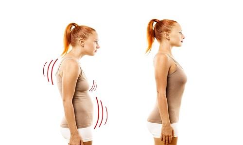 Упражнения для выравнивания спины