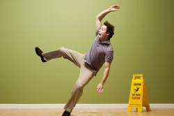 Падение - причина травмы позвоночника