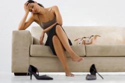 Повышенная утомляемость - симптом артроза таранно-пяточно-ладьевидного сустава