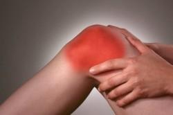Покраснение кожи вокруг коленного сустава при менисците