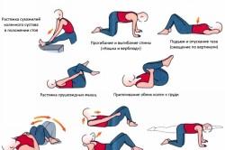 Физические упражнения при остеохондрозе тазобедренного сустава