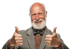 Преклонный возраст - причина артрита