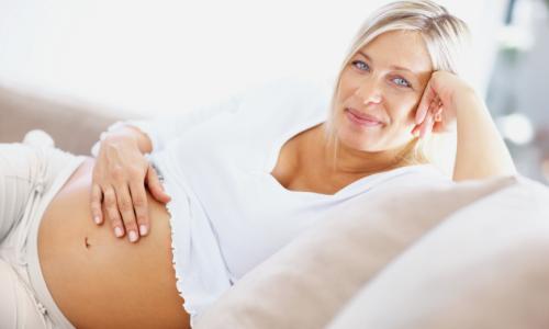 Поздняя беременность - причина отсутствия ядра окостенения тазобедренных суствов